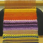 color weaving sampler