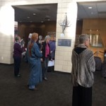About 20 Committee members toured JCC