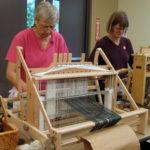 Lita & Sylvia hard at work!