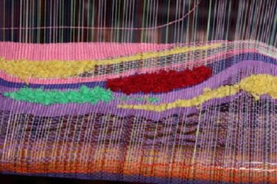 Saori Weaving Class-Dec  3, 2016 - Tucson Handweavers and