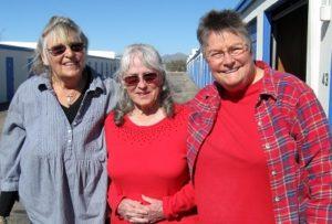 Lura with Helen & Karen