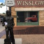 Alice on corner of Winslow, AZ