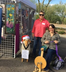 Alice at the Oro Valley HOLIDAY ARTS SHOW